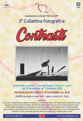 """Mostra Fotografica """" Contrasti """" dal 16 Novembre al 1 Dicembre 2019"""
