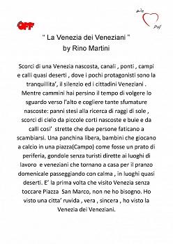 Circuito Off Lucca 2017 Personale Rino Martini dal 18 Novembre al 3 Dicembre