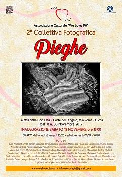 """Mostra Fotografica """"PIEGHE""""   2017 dal 18 Novembre al 30 Novembre"""