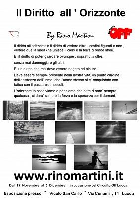 Circuito Off Lucca 2018 Personale Rino Martini dal 17 Novembre al 2 Dicembre