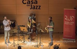 Federica Michisanti Horn Trio  Casa del Jazz 23/11/2019