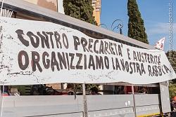 manifestazione degli antagonisti 19/10/2013