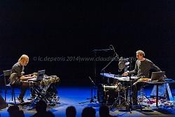 """michele rabbia & eivind aarset """"2"""" auditorium parco della musica 18/1/2014"""