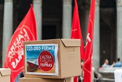 sit in lista tsipras al pantheon 15/4/2014