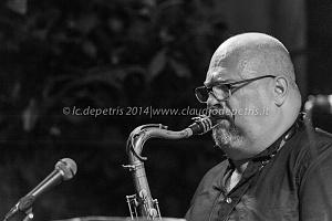 "michel rosen quintet roma summer jazz fest 2014 ""il cortile"" via margutta 25/8/2014"