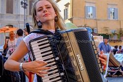 Gintare, Piazza Navona 28/8/2014