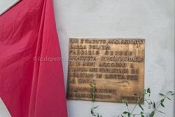40° anniversario uccisione fabrizio ceruso san basilio 8/9/2014