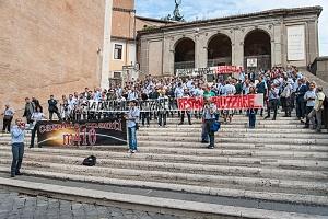 manifestazione lavortori atac 2/10/2014