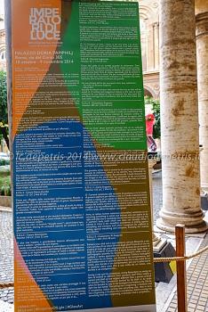 Imperatori di luce-riflessioni sul potere,  palazzo doria-pamphili 28/10/ 2014