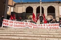 sit in cooperative sociali in campidoglio 27/1/2015