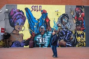 Street art  metro B 21/3/2015