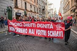 """""""Unions"""" manifestazione nazionale fiom 28 marzo 2015"""