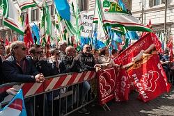 Manifestazione nazionale lavoratori del turismo cgil-cisl-uil 15/4/2015