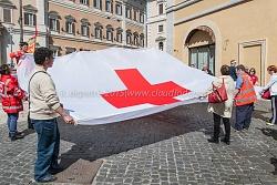 Presidio lavoratori della croce rossa, montecitorio 21/4/2015