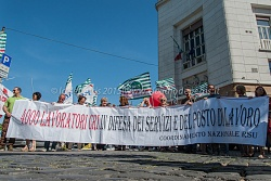 Sit in sindacati Croce Rossa Italiana 11/5/2015