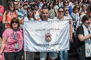 Festa per la canonizzazione delle prime due suore palestinesi, 18/5/2015
