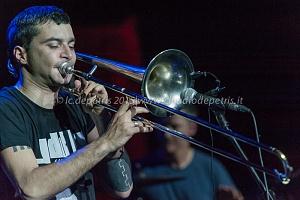 Gianluca Petrella Cosmic Band, Auditorium Parco della Musica, 26/5/2015