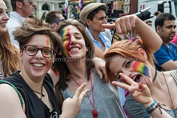 Roma: gay pride parade 2015