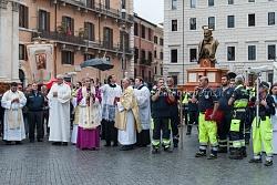 Processione in onore di San Pio da Pietralcina, 23/9/2015