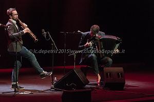 Vincent Peirani & Emile Parisien, Auditorium Parco della Musica 25/11/2015
