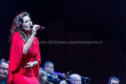 Chiara Civello all'Auditorium Parco della Musica, 10/12/2015