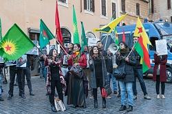 Presidio contro la repressione del popolo curdo in Kurdistan, 17/12/2015