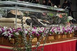 Le spoglie di padre Pio a San Lorenzo fuori la Mura, 3/2/2016