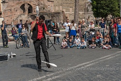 Pe' Strada2 - Buskers Festival for Emergency,  Via dei Fori Imperiali in Roma, 8/5/2016