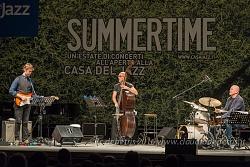 Roberto Gatto Trio, Casa del Jazz 17/07/2016