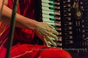 Giuliana Soscia Trio alla Casa Internazionale delle Donne, 24/8/2016