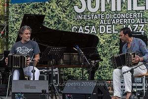 Il jazz italiano per Amatrice - Duo per Bandoneon 4/9/2016