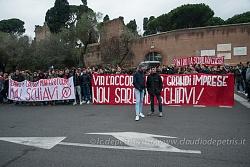 Gli studenti medi protestano a Roma, 17/11/2016