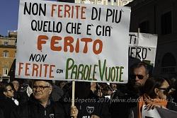 Terremotati autoconvocati dimostrano a Roma 25/1/2017