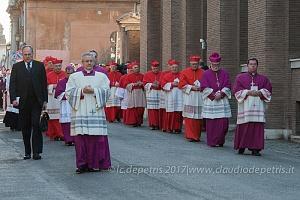 Papa Francesco celebra la ricorrenza delle Ceneri, 1/3/2017