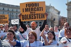 Venditori ambulanti contro la direttiva Bolkestein, 15/3/2017
