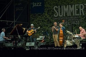 Wolfgang Muthspiel Quintet alla Casa del Jazz, 13/7/2017