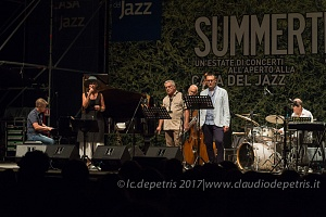 Marit Sandvik & Maurizio Picchiò in concerto alla Casa del Jazz, 26/7/2017