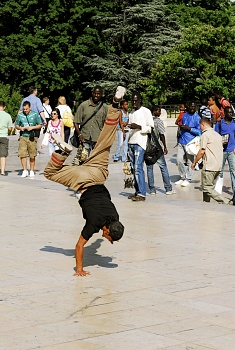 break dance, papy dance parigi