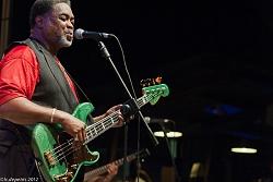 j.w. williams & deep blues band - villa celimontana 1/9/2011