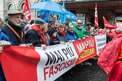Roma 24/2/2018: manifestazione antifascista