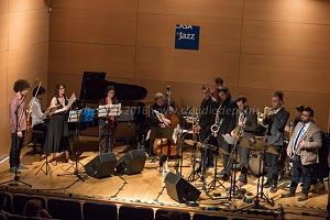 Roma 29/4/2018 l'Orchestra Nazionale Jazz dei Giovani Talenti in concerto,
