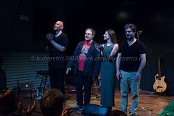 Agricantus in concerto al teatro di Villa Panphili, 27/5/2018