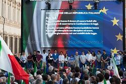 Roma 1/6/2018 manifestazione in difesa della Costituzione