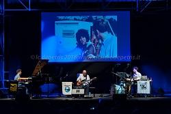 """Enzo Pietropaoli Wired Trio, """"Woodstock Reloated"""" Casa del Jazz 8/7/2018"""