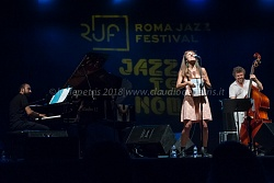 Casa del Jazz 11/7/2018, Camille Bertault Trio