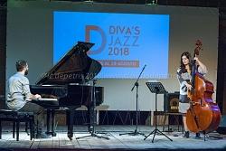 Ilaria Capalbo & Stefano Falcone, 29/8/2018 a Diva's Jazz Festival 2108