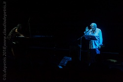 "Stefano Benni ""Un tango con Borges"" Auditorium 20/9/2018"