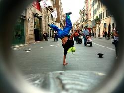 street dance, roma