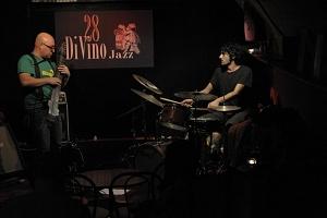 "andrea ""atreio"" marcucci,claudio sbrolli ""more than DUO"" 28DiVino 4/11/2010"