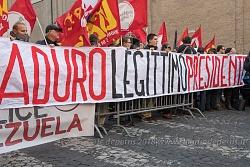 "Roma 12/2/2018: ""Giù le mani dal Venezuela"""